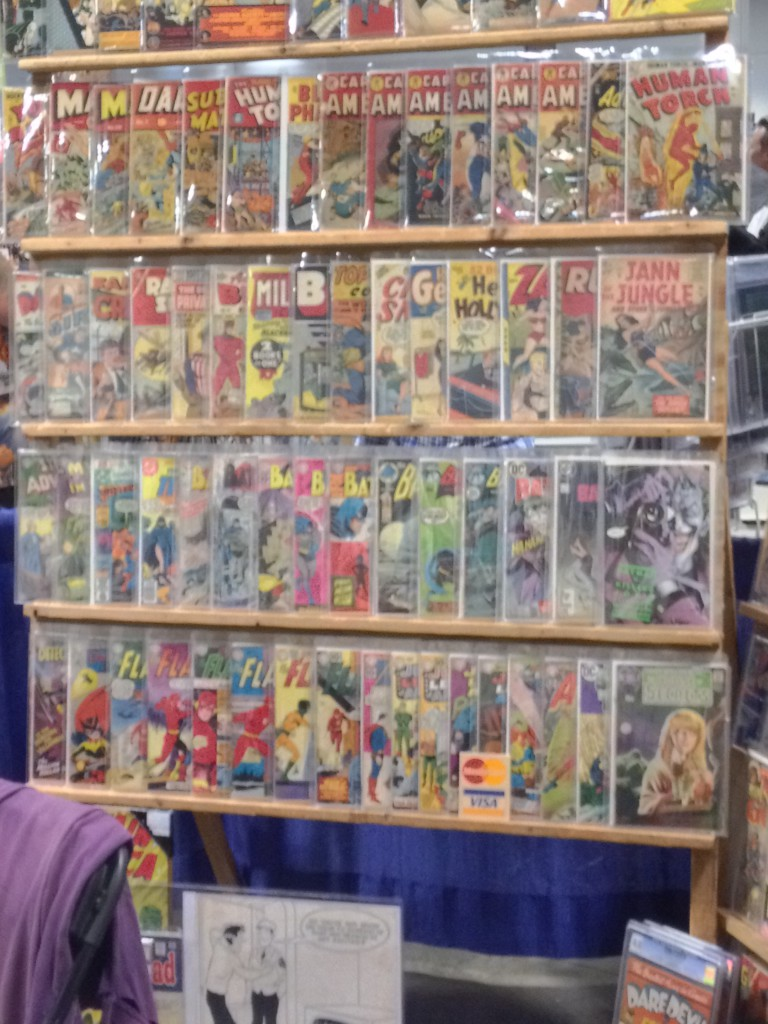 18 - Some seriously old school comic books