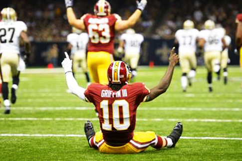 RGIII grounded