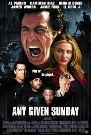 Any Given Sunday Movie Poster