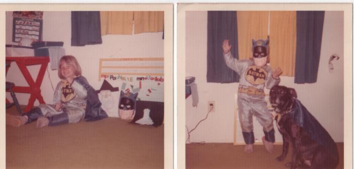 A young Batman