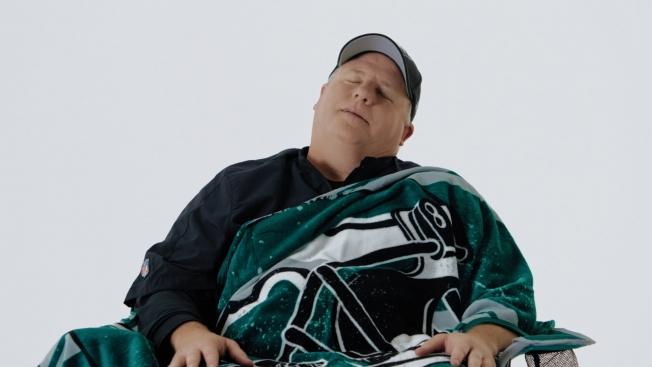 Chip's asleep