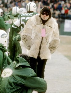 Joe Namaths fur coat