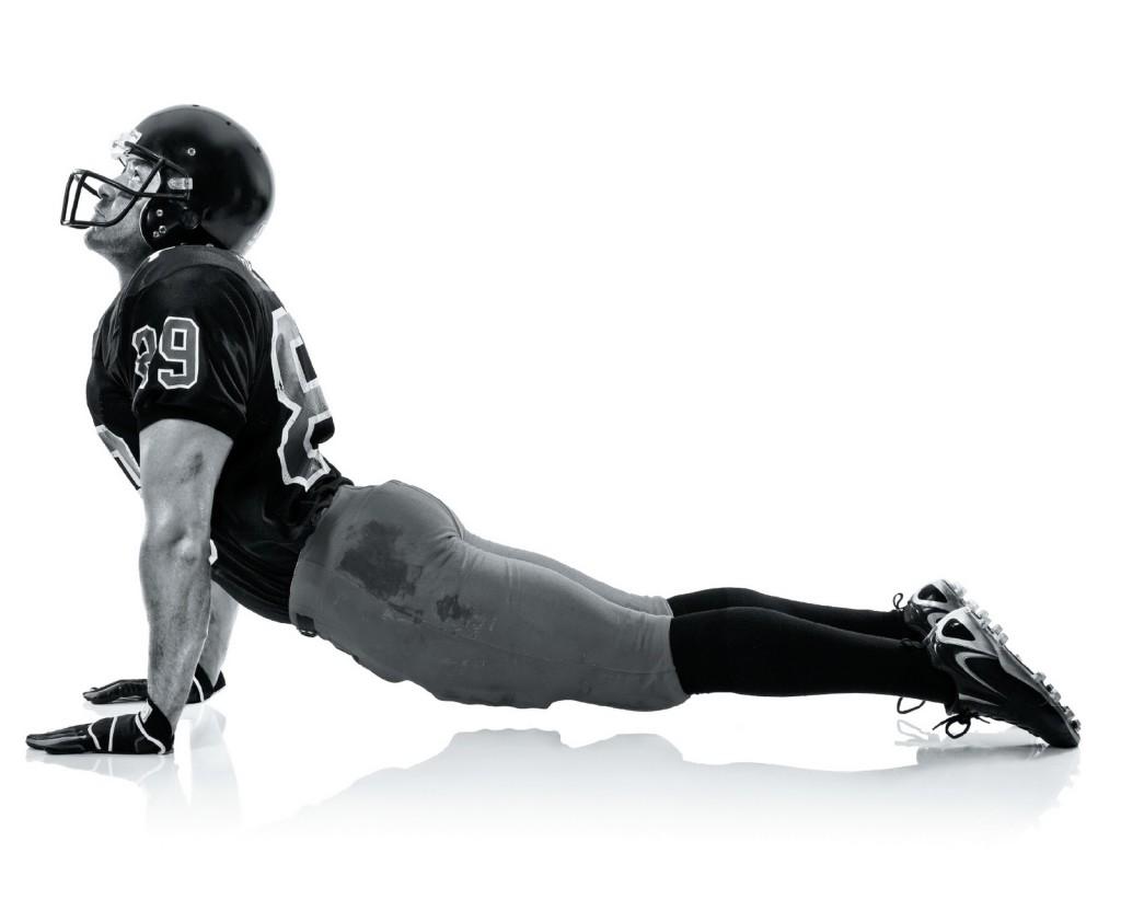 Super Bowl yoga