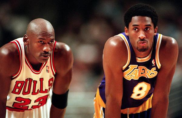 Michael and Kobe