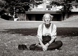 Old guy yoga