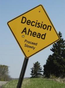 decision ahead
