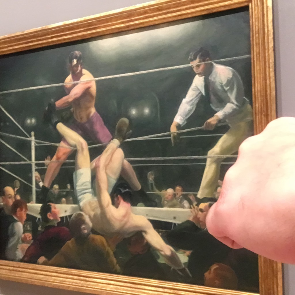 Mama said knock you out.  So Jack Dempsey did just that.