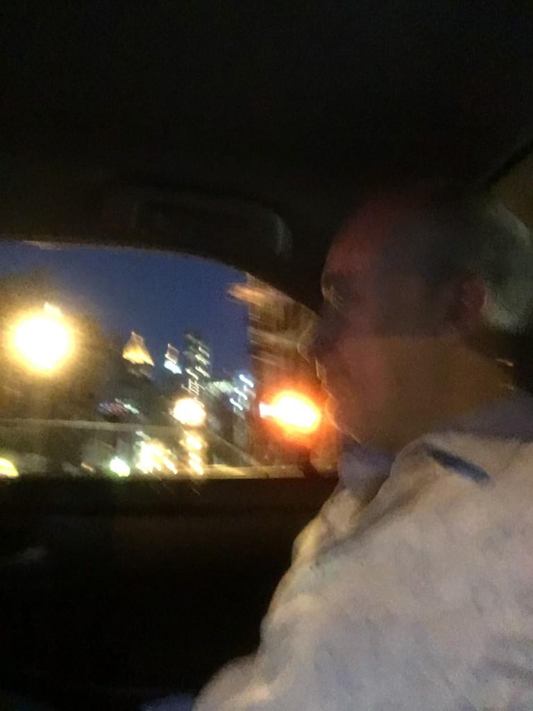 A cab ride