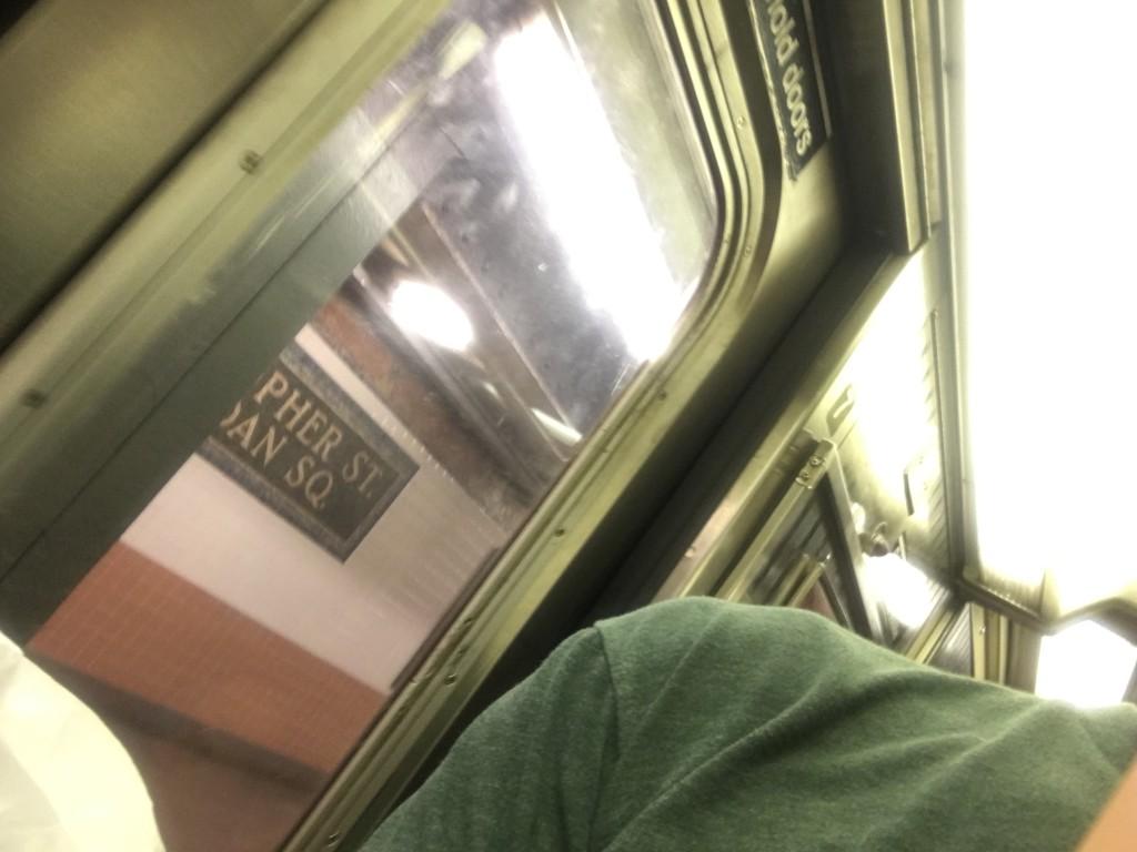 subway ride past Christopher Street