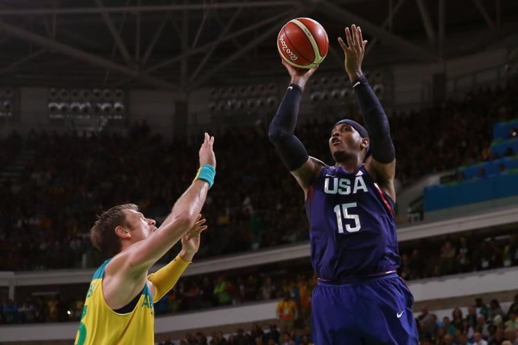 Carmelo Shoots and Scores