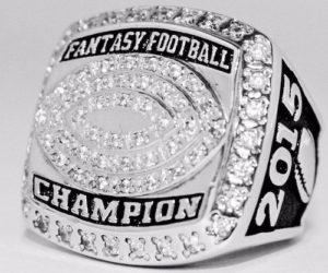 Fantasy football ring