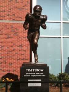 Tebow statue