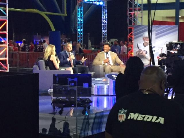 NFL Network set