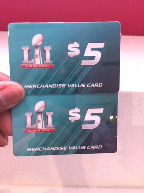 NFL gift cards