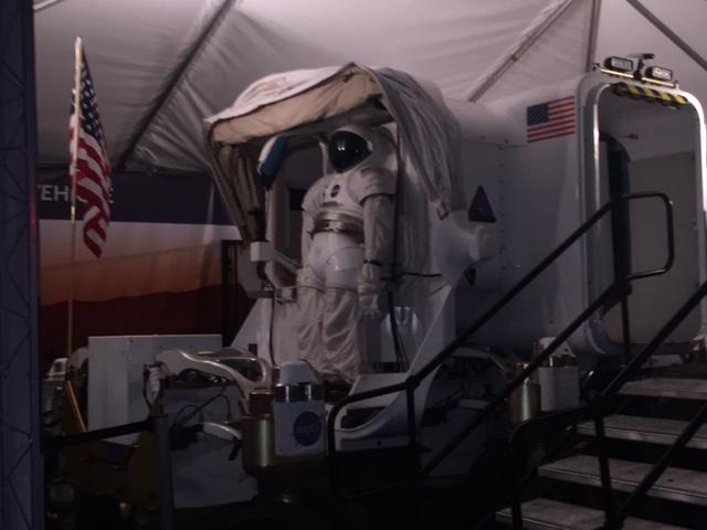 Return to Mars Houston