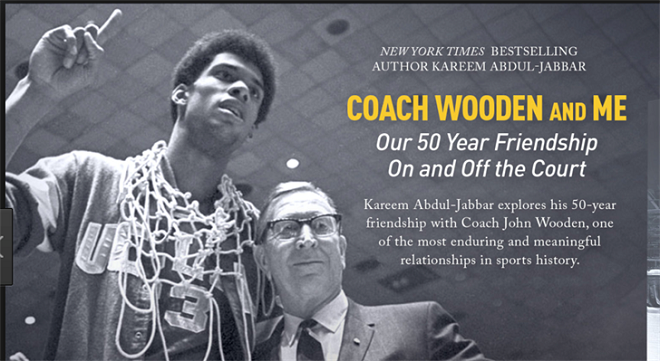 Book Review Coach Wooden And Me By Kareem Abdul Jabbar