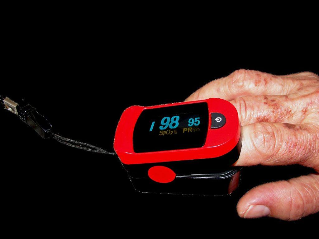 pulse oximeter medicine bless you free photo